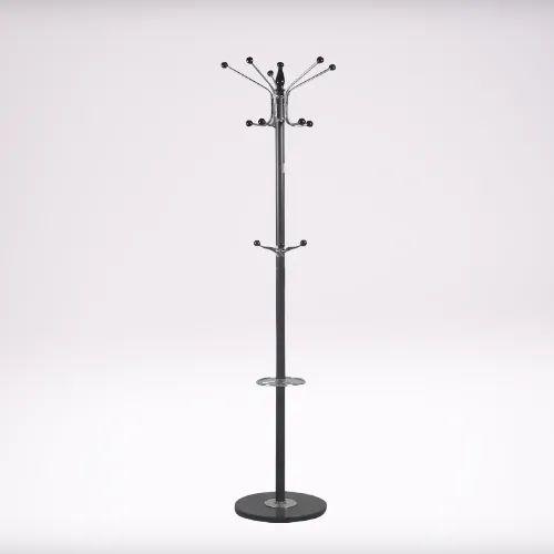 Free Standing Stainless Steel Coat Rack, Stainless Coat Rack