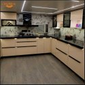 Laminated Shutter Kitchen