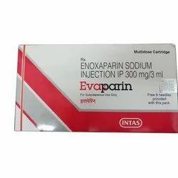 Evaparin Enoxaparin Injection 300 mg/3 ml