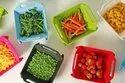3 In 1 Fruit & Vegetable Cutting & Chopping Board, Vegetable Washer Cum Basket-Folding Colander