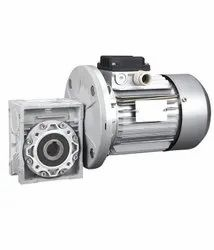 Three Phase Induction Foot Mount Gear Motor, 60 Degree, Power: <10 kW