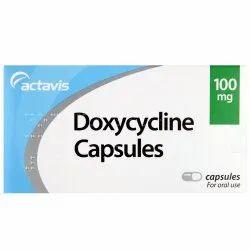 Doxycycline Capsule 100 Mg