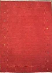 Plain Red FAF00320 Hand Loom Faf Carpet