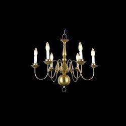 Crystal LED Glass Hanging Chandelier
