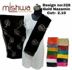 Nazamin Zari Embroidery Dupatta