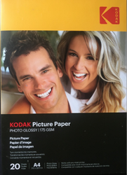 Natural White Kodak Photo Paper, Gsm: 130 - 270, Size: A4