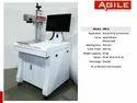 Mild Steel Fiber Laser Marking Machine, For Industrial, Model Name/number: Hm-a