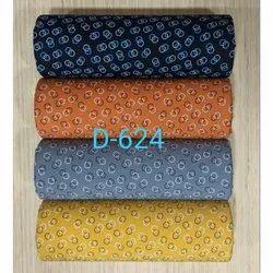 Printed Rayon Kurti Fabric