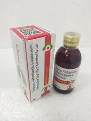 Ambroxol Hydrochoride, Guaiphenesin Terbutaline Sulphate & Menthol Syrup