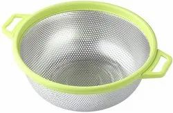 Stainless Steel Food Mesh Colander with Handle