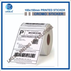 ROLL FORM STICKER PRINTED AND PLAIN