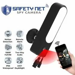 SAFETYNET Hidden Surveillance, 2 in 1 with Light Projector, Wireless, Indoor and Outdoor Camera