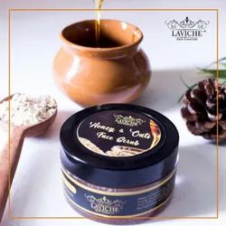 Gel Honey And Oats Face Scrub, Packaging Size: 50g