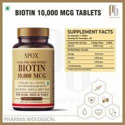 Spox Biotin 10000 Mcg