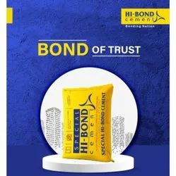 Grey Special Hi Bond Cement, Packaging Size: 50kg