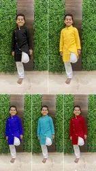 Maruti Fashion Men Kids Kurta Pyjama, Size: 3 Year To 12 Year