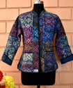 Indigo Block Printed Jackets