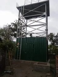 Sectional Steel Tank Structure