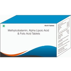 Methylcobalamin, Alpha Lipotic Acid & Folic Acid Tablets