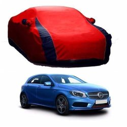 Polyester Red And Blue Car Body Cover