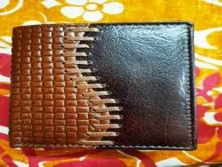 Mix Trifold Online Shopping Leather Wallets, Card Slots: 7