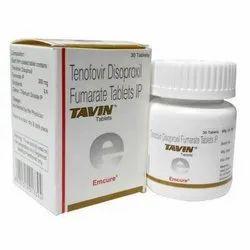 Tavin (Tenofovir Disoproxil Fumarate 300 Mg)