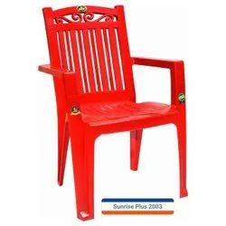 Red Designer Plastic Chair