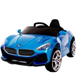 Kids Blue Ride On Car