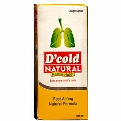 D Cold Natural Cough Syrup, 100 ml