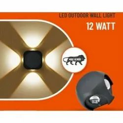 12W LED Outdoor Wall Light