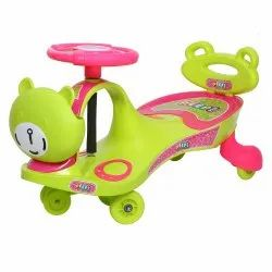 Peep Peep Pink Swing Car With Back Support