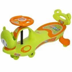 Peep Peep Orange SWING CAR With Back Support