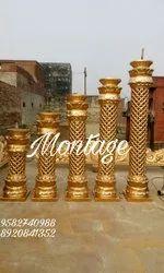 Wedding Fiber/ Decorative Pillar, Size/dimension: 4 Feet