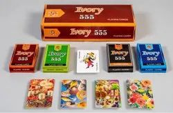 Ivory 555 Playing Cards