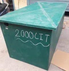 Bio Digester Tanks Capacity 2000 Lt.