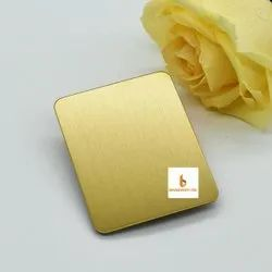 Golden Stainless Steel Profile