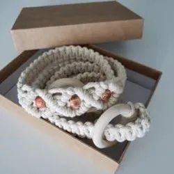 Fashionable Macrame Belt