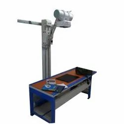 Line Frequency Machine Type: Portable (Mobile) 300 mA X Ray Machine, For Hospital