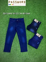Kids Plain Blue Jeans