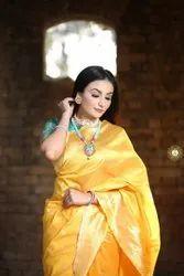 6.3 m (with blouse piece) Festive Wear Banarasi Saree