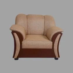 Modern Single Seater Wooden Sofa, Size: 3.5 H X 2 L X 2 Dft, Seating Capacity: 1