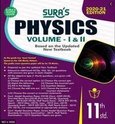English Paper Sura 11th Physics Guide (vol - I & Ii)