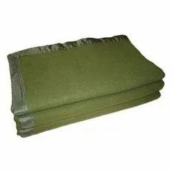 Olive Military Blanket