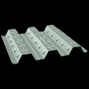 White Mild Steel GI Coated Decking Sheet