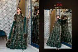 Vipul Ziana 4621 Series Heavy Wedding Wear Designer Salwar Suits Collection