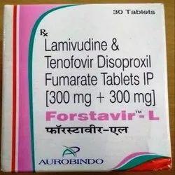 Forstavir-l (Lamivudine 300 Mg + Tenofovir Disoproxil Fumarate 300 Mg)