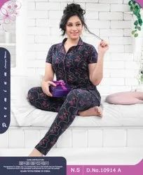 Mix Printed Women S Hosiery Night Wear Cotton, Age Group: 18 To 25
