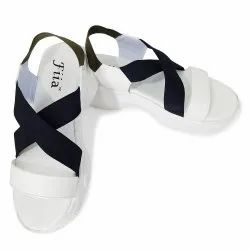 Fiia Flat Women Fashion Sandals For Outdoor Latest design, For Casual Wear, Size: Uk4 To Uk8