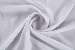 Natural Plain Georgette fabric