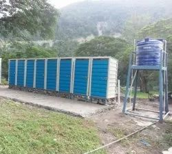 Portable Chemical Toilet cabin